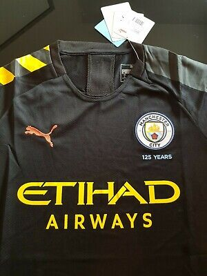 Men's 2019/20 Manchester City Away Football Shirt. All Sizes. BNWT