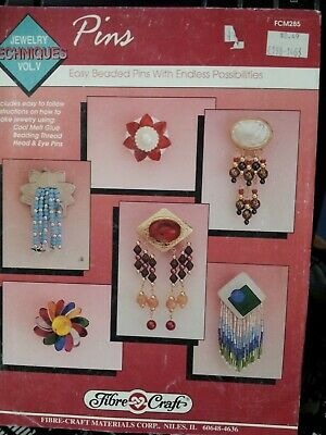 easy beaded pins with endless possibilities instruction book