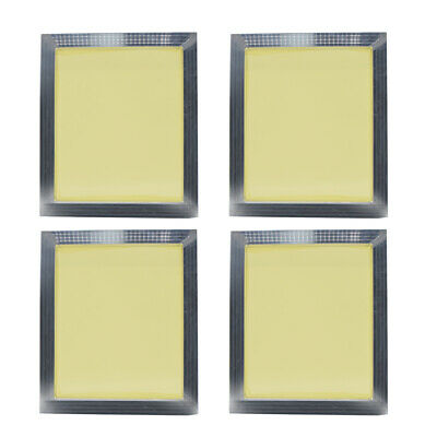 4x Screen Frame 300Mesh Aluminum Alloy Silk Screen Printing Press Frames 32x37CM
