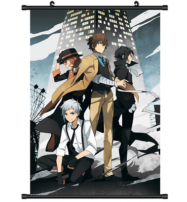 Bungou Stray Dogs Anime HD Canvas Print Wall Poster Scroll Home Decor Cosplay