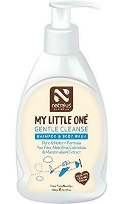Natralus Australia My Little One Gentle Cleanse Shampoo And Body Wash, 200 Ml