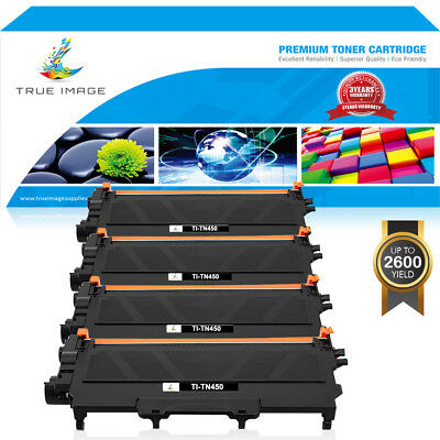 4PK TN-450 TONER for BROTHER HL2240 HL2270DW MFC-7360N MFC-7460DN DCP7060D TN420