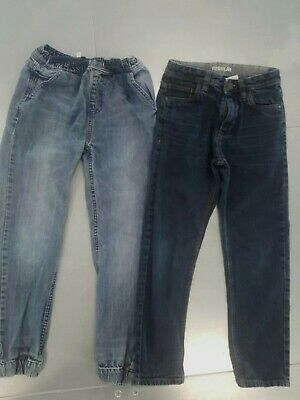 2 Pairs of Boys Jeans Age 10 Years, Next & John Lewis Jeans, Straight Leg