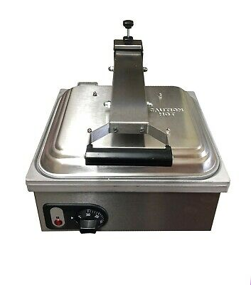 Commercial Flat Plate Panini Grill Machine 2.2 kw Electric 13amp plug fitted