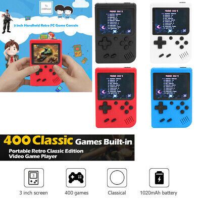 3 in Handheld Retro FC Game Console Built-in 400 Games 8 Bit Game Player Console