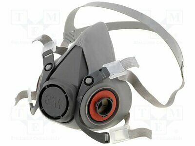 6000 series dust respirator; Size: M; Kit: without filters [1 pcs]