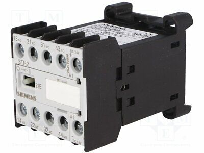 3TG1001-1AL2 Contactor4-pole 230VAC 16A NC NO x3 DIN on panel SIEMENS PARTNER