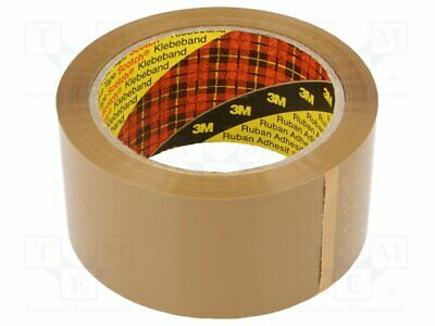 Packing tapes; L: 66m; Width: 50mm; Colour: brown [1 rol]