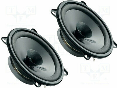 Car loudspeakers; 130mm; 50W; 70÷13000Hz; 2 loudspeakers; 4?; 43mm [1 set]