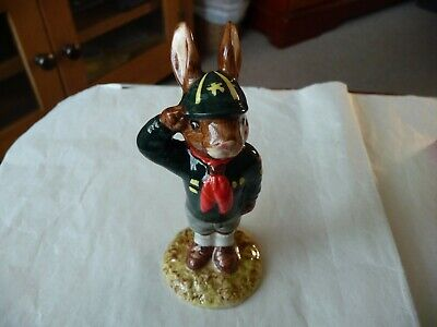 Royal Doulton Bunnykins figurine - Be Prepared DB56 (c) 1986 With Box