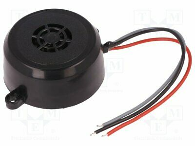 Sound transducer: piezo alarm; 12÷24VAC; 12÷24VDC; Colour: black [1 pcs]