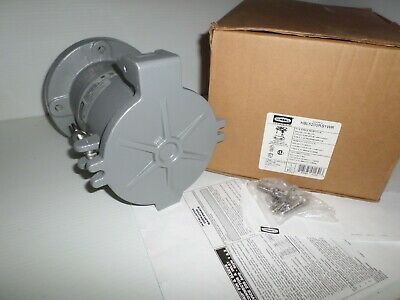 *NEW IN BOX* HUBBELL HBL5200RS1WR 200-Amp REVERSE SERVICE RECEPTACLE 4P 5W 200A