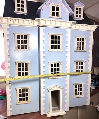 Good Quality Dolls House In Need Of Renovation 4 Story Victorian Dolls House