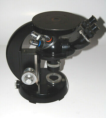 Carl Zeiss Antique Microscope - Operational