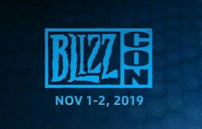 1x Blizzcon 2019 GA Pass Ticket  + Grunt Statue + Goodies