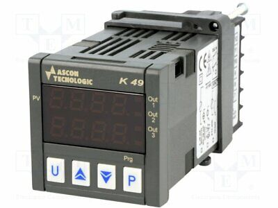 Module: regulator; temperature; SPST-NO; SPST-NO; on panel [1 pcs]
