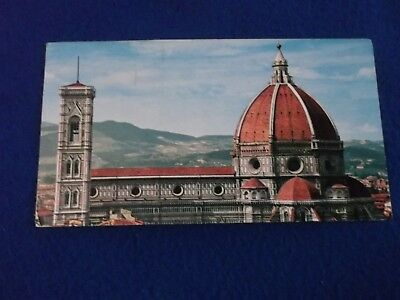 Postcard ~  Firenze ~ Roma Ferr ~ With Stamp 1969