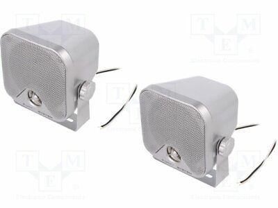 Car loudspeakers; two-way; 110x110x101mm; 90W; 95÷22000Hz; 4? [1 set]