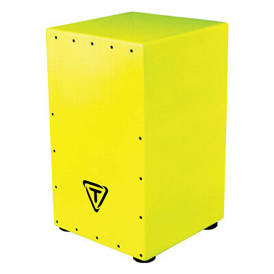 Tycoon Percussion Bold Series Cajon Pack - Hi-Viz Yellow