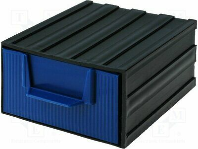 Module with drawer; Usable dim: 94x115x51mm; Module: black [20 set]