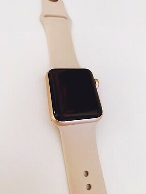 Apple Watch Series 3 38mm Rose Gold GPS (MQKW2LL/A) - Excellent Used Condition