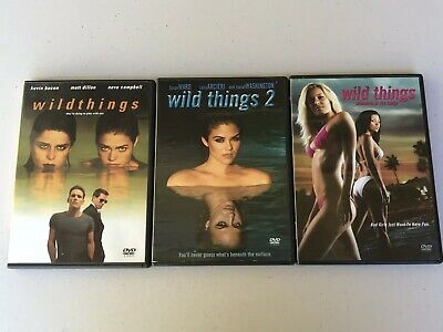 Wild Things Triology 1-3 DVD Lot Movie