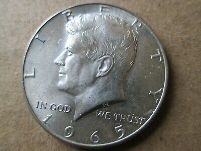 Lot of 4 BRILLIANT LUSTER  Kennedy 40/% Silver Half Dollars 1965-1969 $2.00 Face