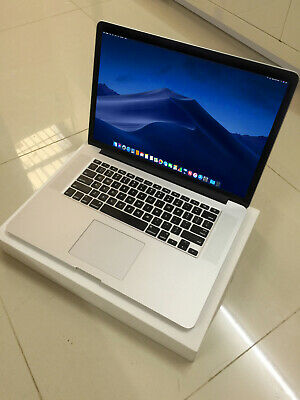 "APPLE MACBOOK PRO 15"" RETINA 2014 - 2015 QUAD CORE i7 16GB 512GB SSD OSx 2018"