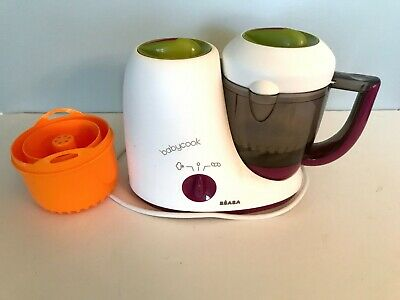 Beaba Babycook Classic 4 in 1 Baby Food Steamer **European Adapter 250 v cord **