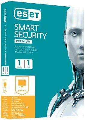 ESET Smart Security Premium * License up to 2022 - 3 PC * Product Key 3 years