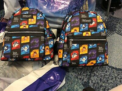 D23 Disney Expo 2019: Dream Store: D23 Loungefly Mini Backpack (AAA)