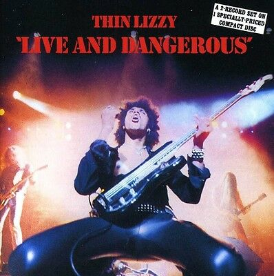 Live & Dangerous - Thin Lizzy (1989, CD NUEVO)