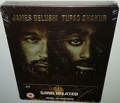 Gang Related (2016 Uk Exclusive) New Sealed Steelbook Region B Bluray + Poster