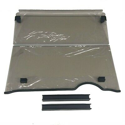 Windshield For Ezgo Rxv Golf Cars.  2 Piece Fold Down. Strong 4Mm Acrylic.