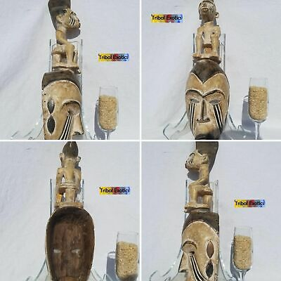AUTHENTIC Igbo Ibo Afikpo Mba Mask Figure Sculpture Statue Fine African Art