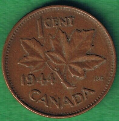 1937 Canada Penny Small Cent Rare Coin Circulated One Coin From The Lot.