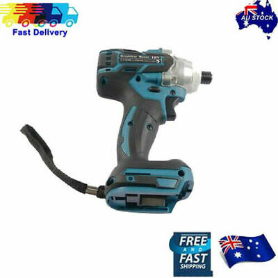 Brushles motor impact Drill Driver Cordless For Makita 18V Li-ion battery AU