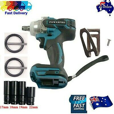 "For Makita 350N 18V Li-ion battery Brushless motor 1/2"" impact wrench Cordless"