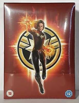 Blu-ray 4K UHD steelbook - CAPTAIN MARVEL ZAVVI COLLECTOR'S EDITION new sealed