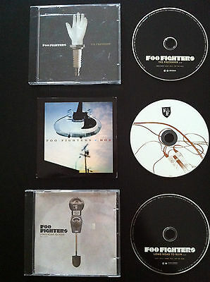 FOO FIGHTERS Lot 3 cd Promo DOA, THE PRETENDER, LONG ROAD TO RUIN Dave Grohol