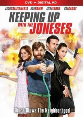 KEEPING UP WITH THE JONESES (Region 1 DVD,US Import,sealed.)