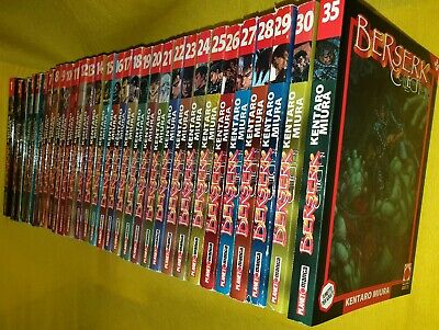 Berserk Collection 1 / 30 + 35 Varie Ristampe Panini Planet Manga Guts Griffith
