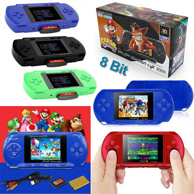 2.8'' PVP Slim Station Games Console 3000 Games Portable Handheld Player Gifts