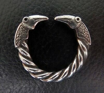 Anglo-Saxon Dragon Ring in Fine Pewter: Staffordshire Hoard Official Merchandise