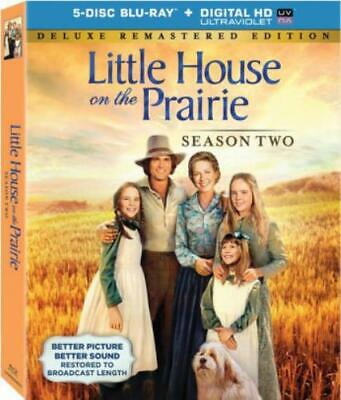 LITTLE HOUSE ON THE PRAIRIE: SEASON TWO (Region A BluRay,US Import,sealed.)