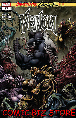 Venom #17 (2019) 1St Printing Kyle Hotz Main Cover Bagged & Boarded Marvel Ac