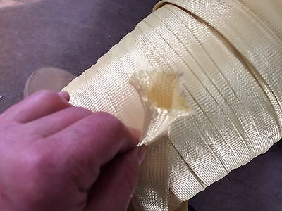 """20 Yards A & P Technology 1.50"""" ID Braided Polypro Biaxial Sleeving # AP7471"""