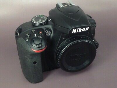 Used Nikon D3400 DSLR Body (1450 actuations)