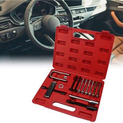 Car Steering Wheel Puller Remover Lock Plate Disassembly Tool Compressor Install
