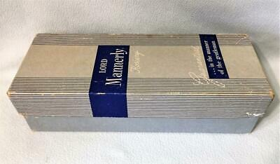 VINTAGE ORIGINAL 1950's EMPTY BOX WITH LID LORD Mannerly Men's Hosiery
